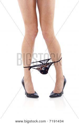 Legs  With Panties