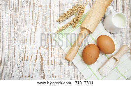 Bread Ingredients