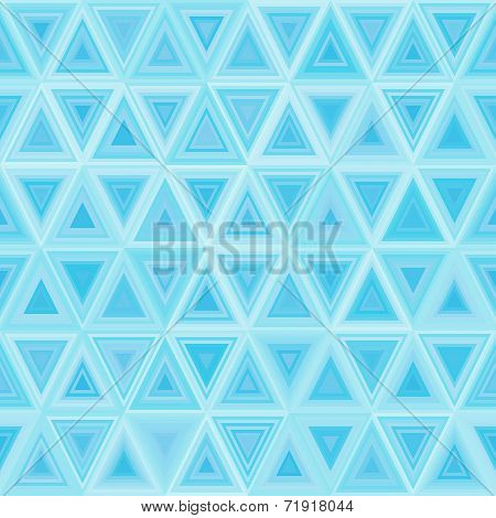 Seamless Light Blue Triangulate Pattern