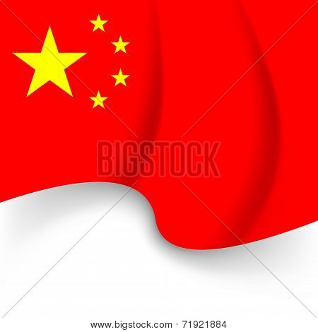 Chinese National Flag Holiday Background