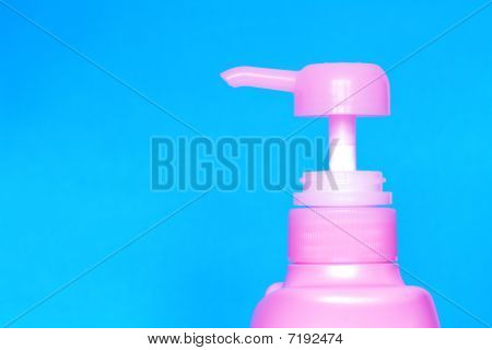 Blue Liquid Soap