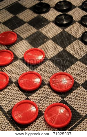 A fun game of checkers