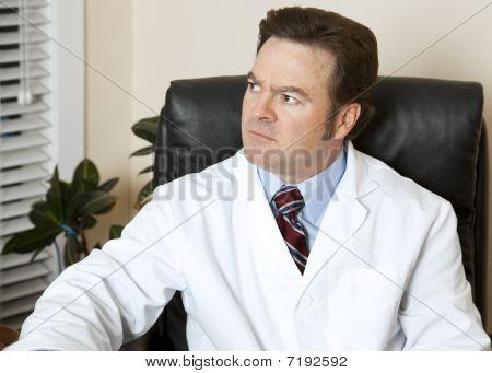 Worried Doctor