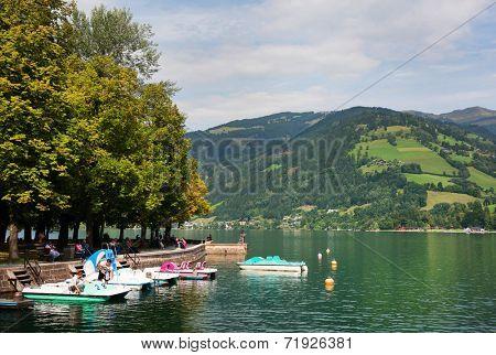 Zeller Lake, Zell am See, Austria, Europe
