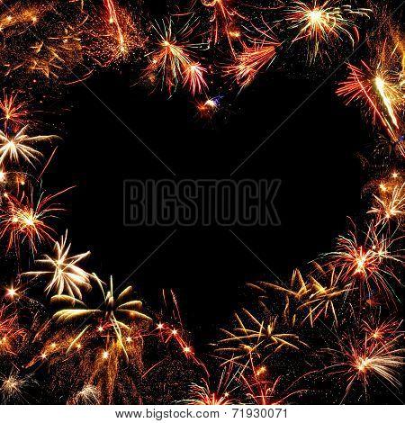Frame Of Fireworks
