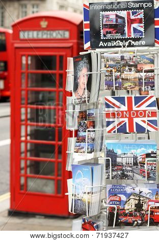 Postcards of London