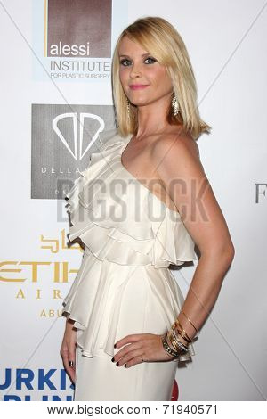 LOS ANGELES - SEP 13:  Bonnie Somerville at the 5th Annual Face Forward Gala at Biltmore Hotel on September 13, 2014 in Los Angeles, CA