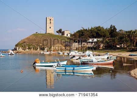 Fokea Summer Resort At Kassandra Of Halkidiki Peninsula In Greece