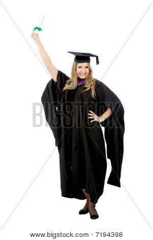 Graduation Woman Portrait