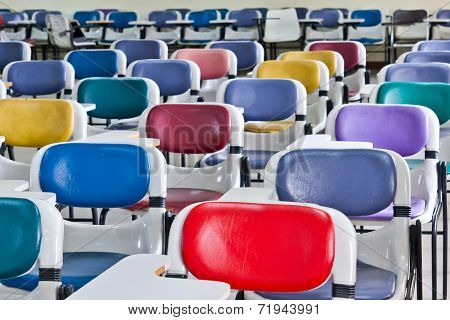 Multi Colored Chairs