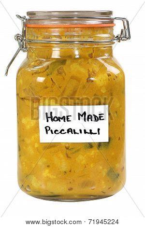 Homemade Piccalilli