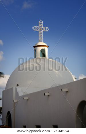Mexico Church Steeple