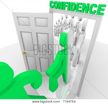 Stepping Through The Confidence Doorway