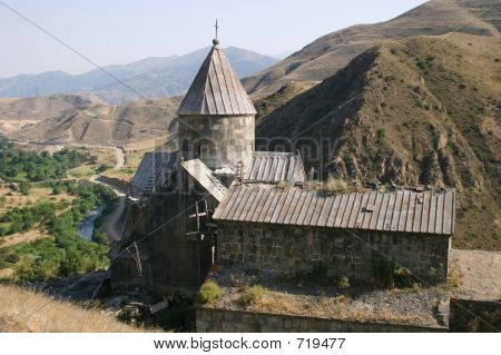 Vorotnavank church in Armenia