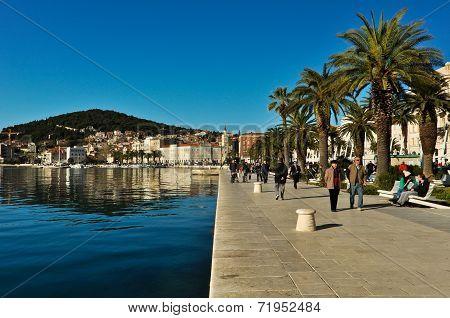 Split Riva Promenade, Croatia