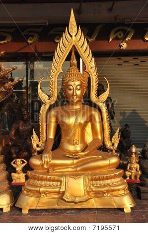 Buddha New Aura Shine Brass