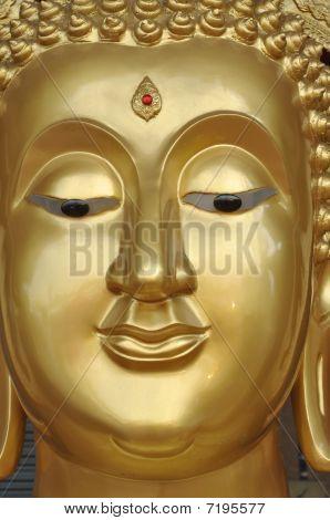 Buddha New Face Brass