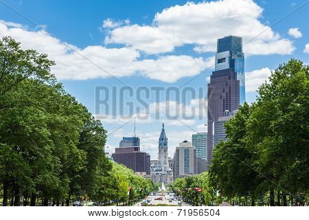 Philadelphia Skyline - Pennsylvania - Usa