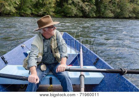 Drifting Down The River