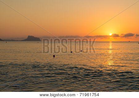 Sunrise Over Altea Bay