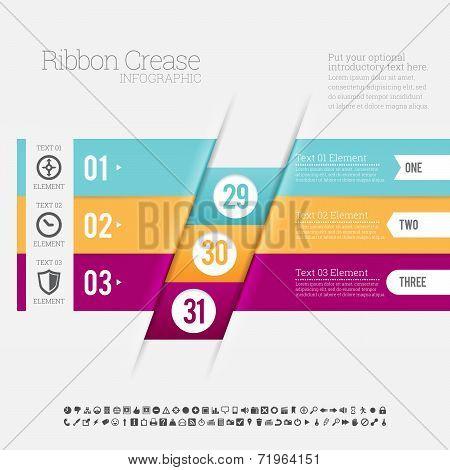 Ribbon Crease Infographic