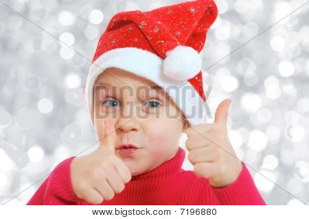 Santa Mädchen