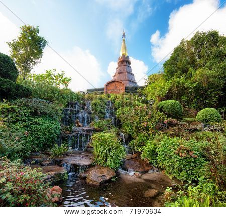 Doi Inthanon in Chiang Mai, Thailand