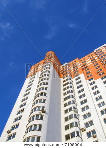 New Colorful Orange Building