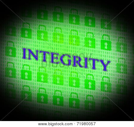Integrity Data Represents Bytes Facts And Decency