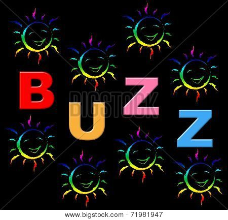 Kids Buzz Indicates Public Relations And Child