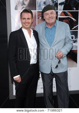 LOS ANGELES - AUG 20:  Stacy Keach & Shannon Keach arrives to the 'If I Stay' Hollywood Premiere  on August 20, 2014 in Hollywood, CA