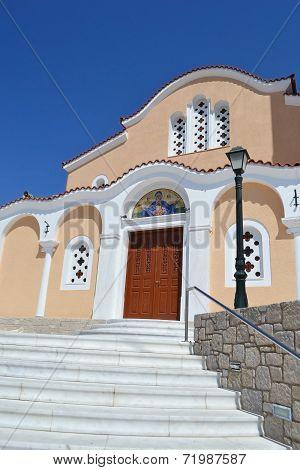 Greek Orthodox Church In Kefalos