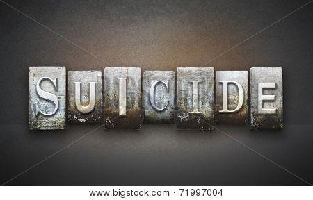 Suicide Letterpress