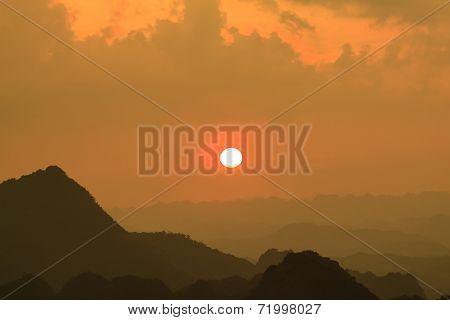 Sunrise mountain