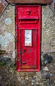 picture of reign  - An old rural Royal mail post box from the reign of Queen Victoria - JPG