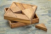 stock photo of tangram  - Tangram - JPG
