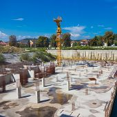 pic of cornerstone  - Construction site - JPG