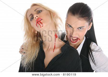 Malicious Woman -vampire And Beautiful Women