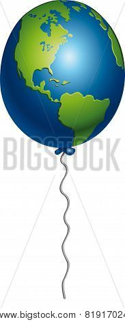 Earth balloon