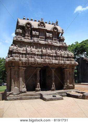 Ganesha Ratha (Chariot) Mahabalipuram,India