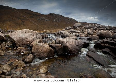 rocks with water