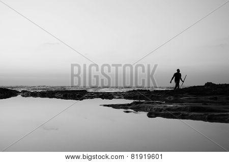 Men at the sea