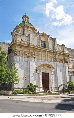 Church of St. Domenico. Altamura. Puglia. Italy.
