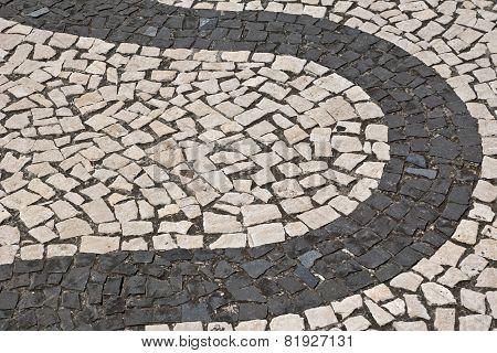 Portuguese stone pattern