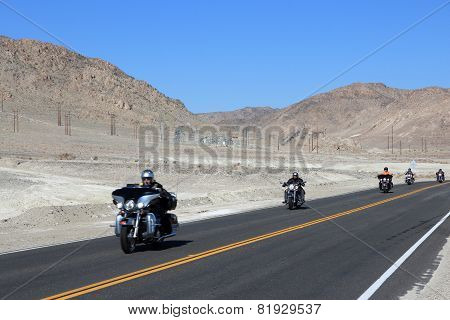 Death Valley Motorbikes