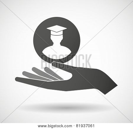 Hand Giving A Student
