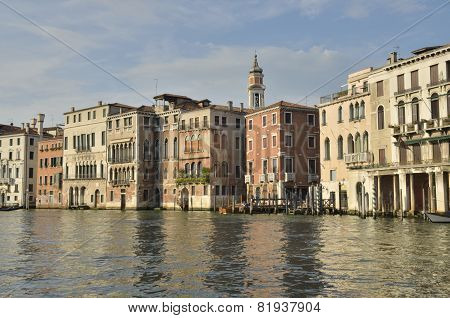 Scene At The Grand Canal