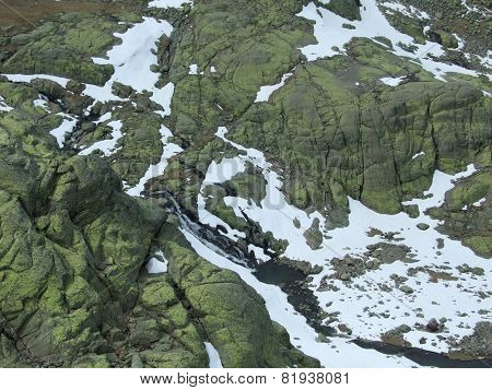 Mount Gredos with snow