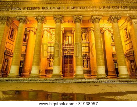 Mosta dome at night - Malta