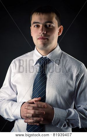 portrait young businessman